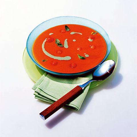 Tomaten-Melonen-Suppe