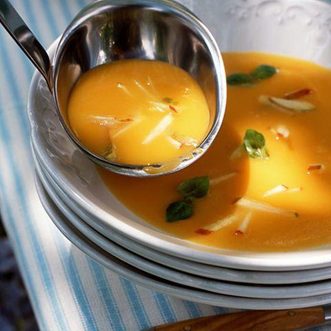 Süßkartoffel-Apfel-Suppe