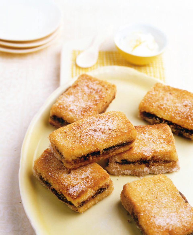 Süßes Zwetschgen-French-Toast
