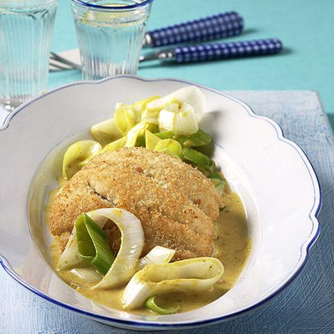 Fisch in Couscous-Kruste