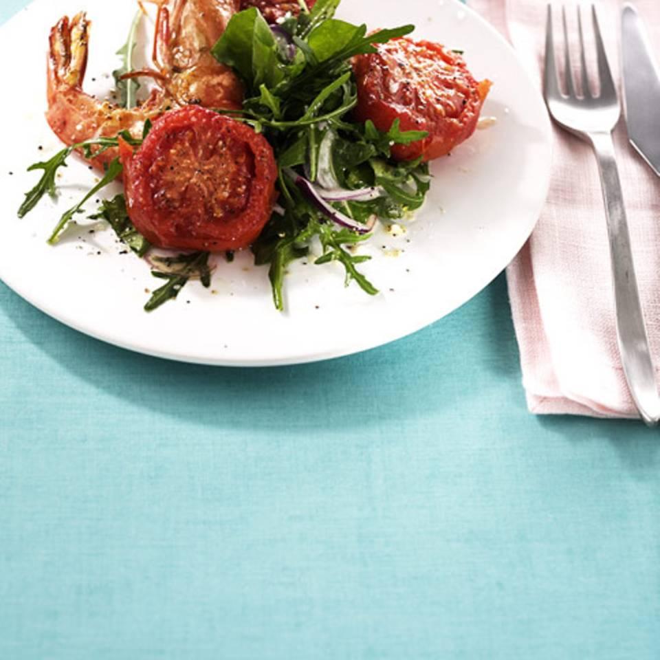 Lauwarmer Tomatensalat Rezept
