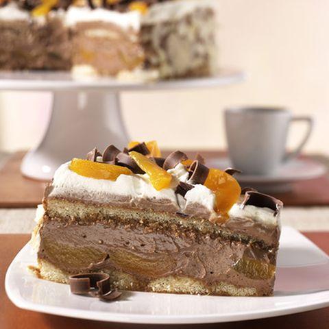 Mokka-Aprikosen-Torte