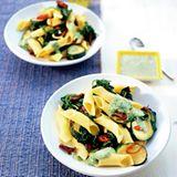 Nudel-Spinat-Salat