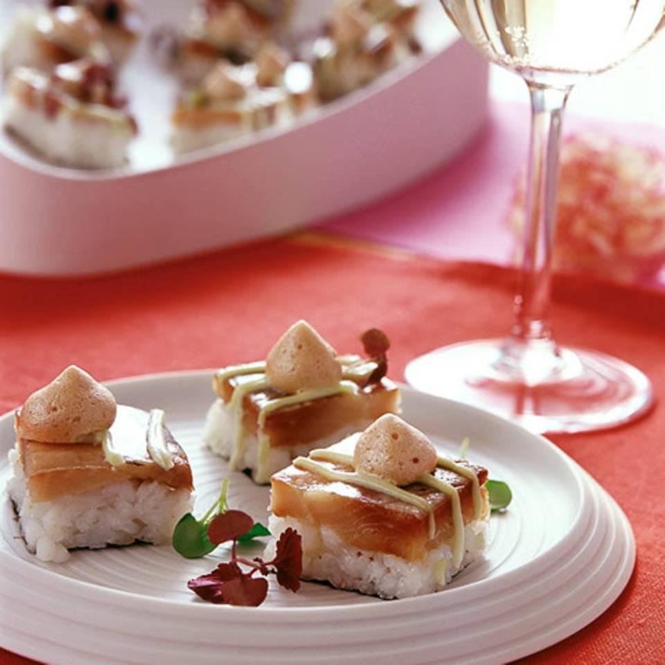 Matjes-Sushi Rezept