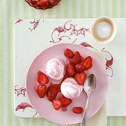 Erdbeer-Kokos-Creme