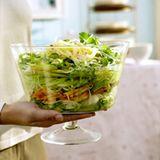 Süss-scharfer Hähnchensalat