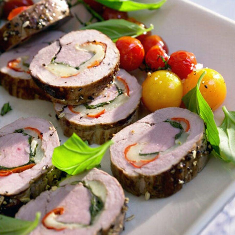 Schweinefilets mit Pecorino