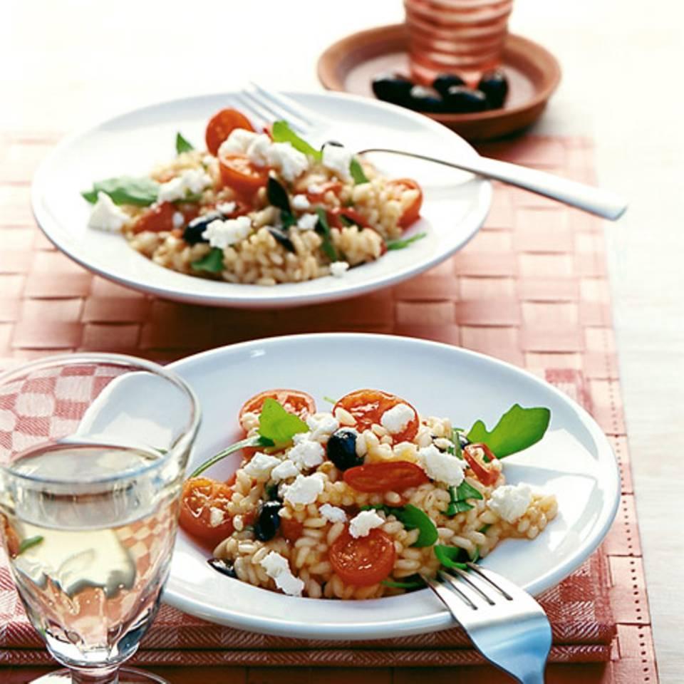 Tomaten-Rauke-Risotto Rezept