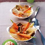 Gemüse-Bouillabaisse