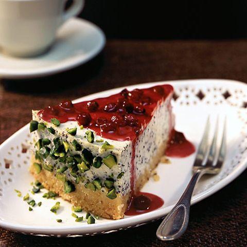 Mohn-Cheesecake