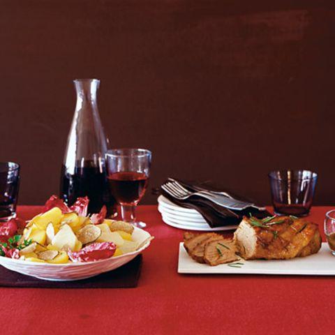 Kartoffel-Trüffel-Salat mit Kalbstafelspitz