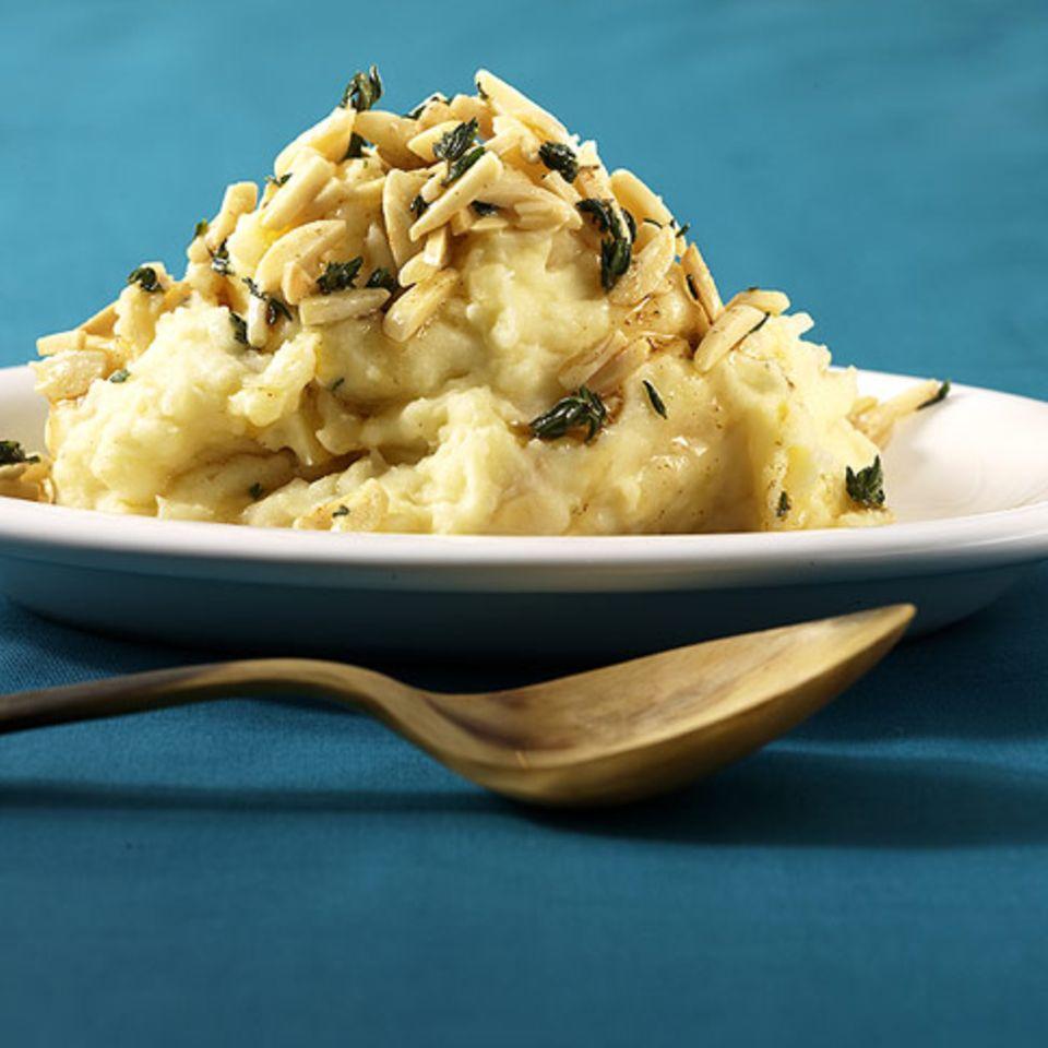 Stampfkartoffeln mit Knoblauch