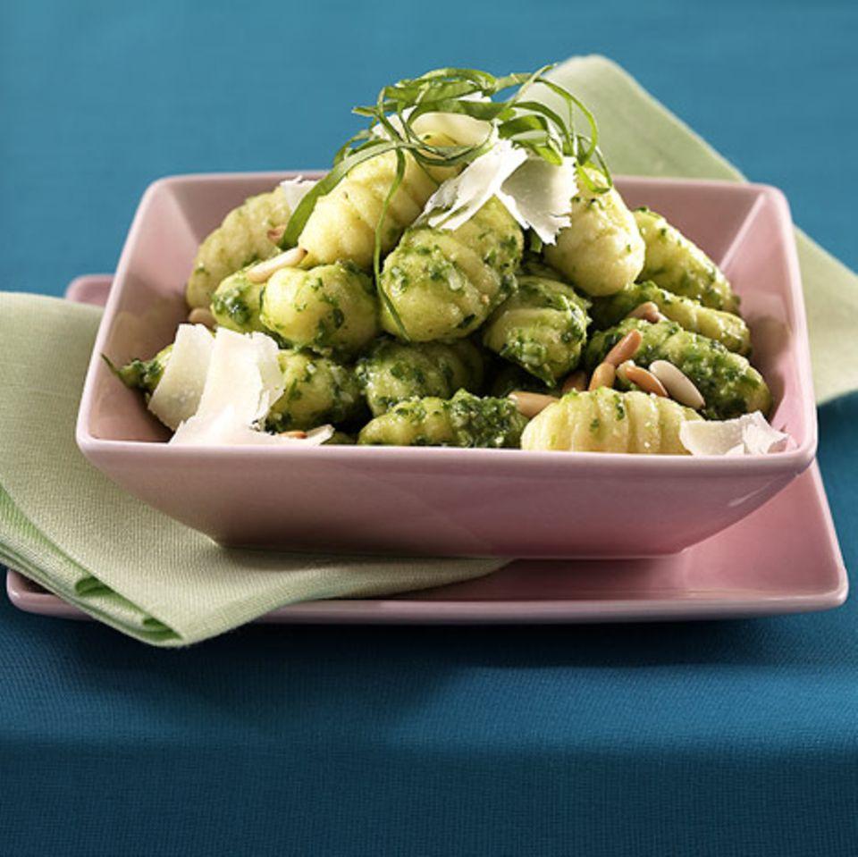 Gnocchi mit Bärlauch-Pesto