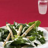 Spargel-Spinat-Salat