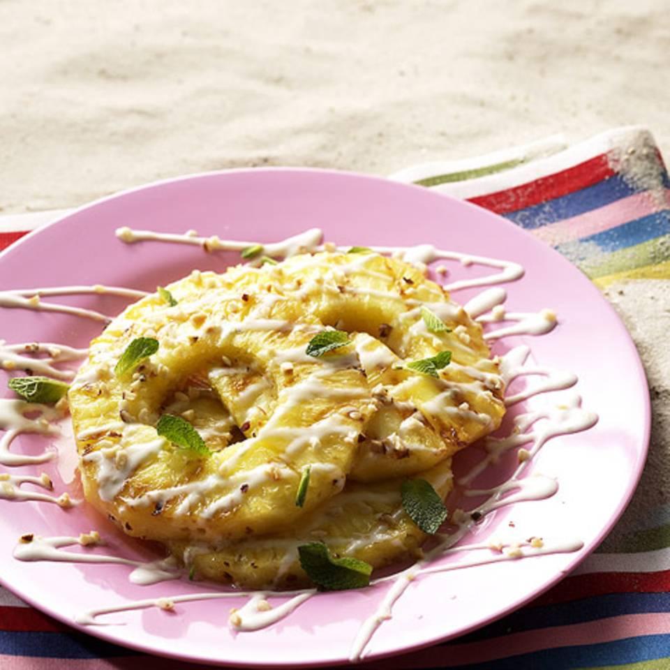 Honig-Ananas Rezept