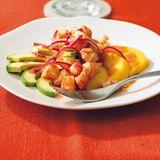 Garnelen-Avocado-Salat