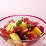 Erdbeer-Ananas-Salat