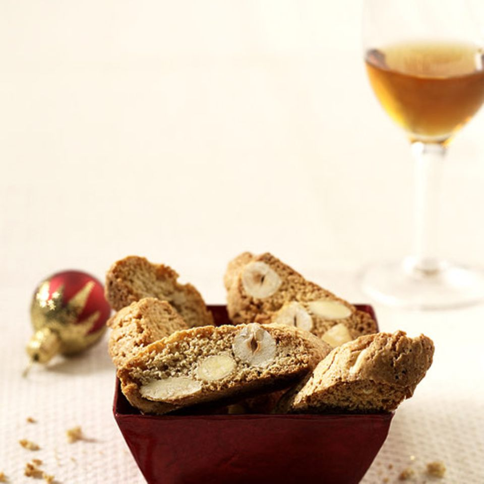 Weihnachts-Cantuccini