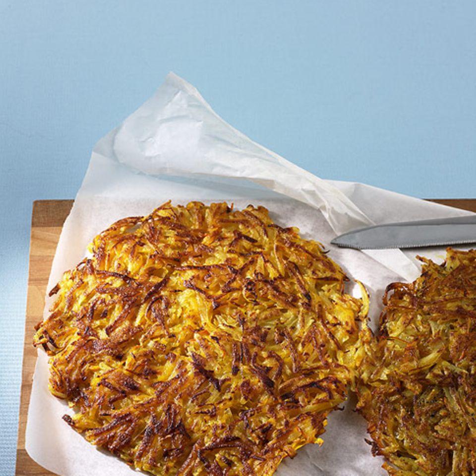 Kürbis-Kartoffel-Rösti