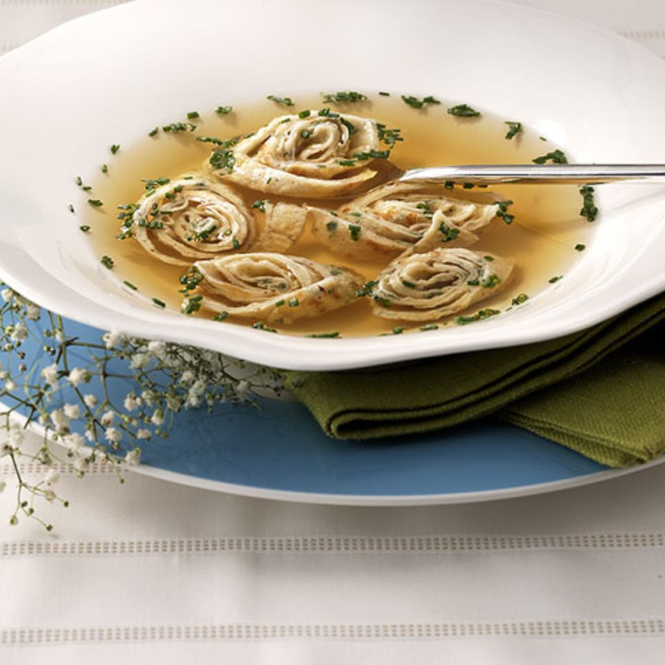 Nussflädle-Suppe