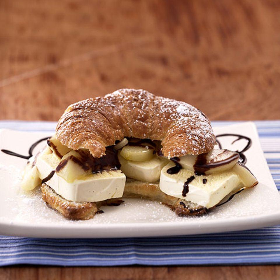 Birne-Helene-Sandwich