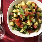Zucchini-Würfel