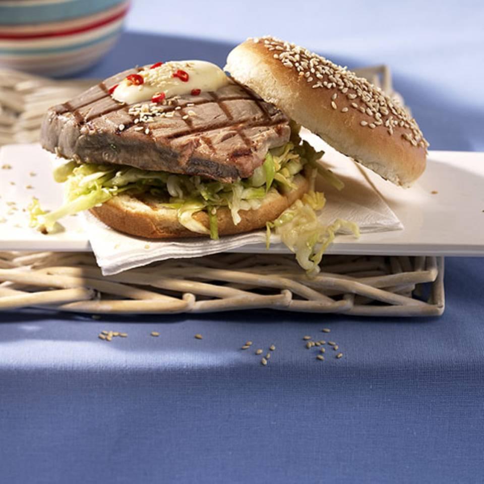 Thunfisch-Burger Rezept