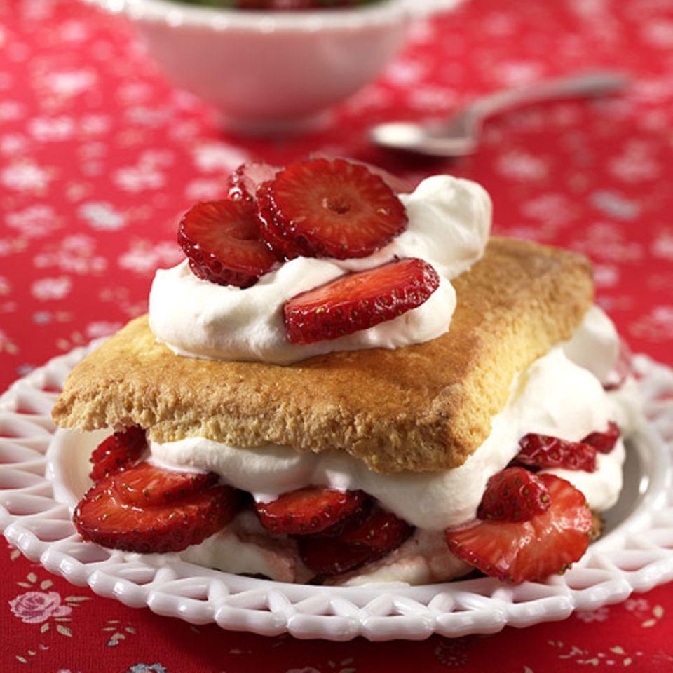 Erdbeer-Shortcake