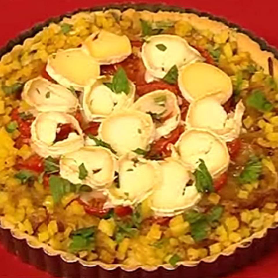 Gemüsetarte mit Auberginen und Ziegenkäse Rezept