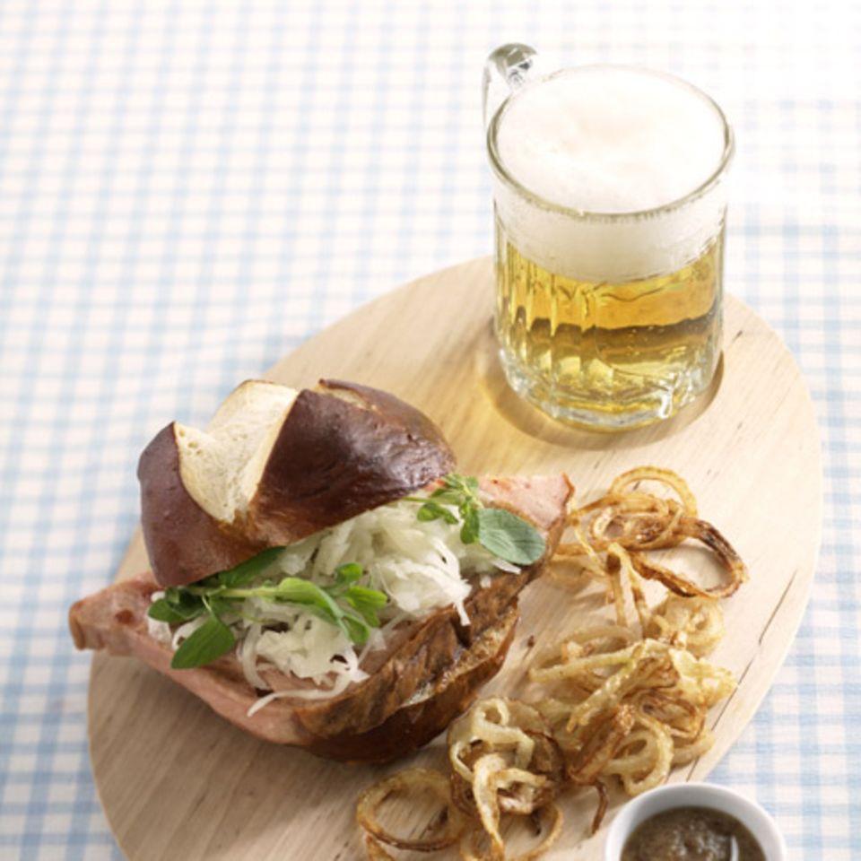 Leberkäse-Burger