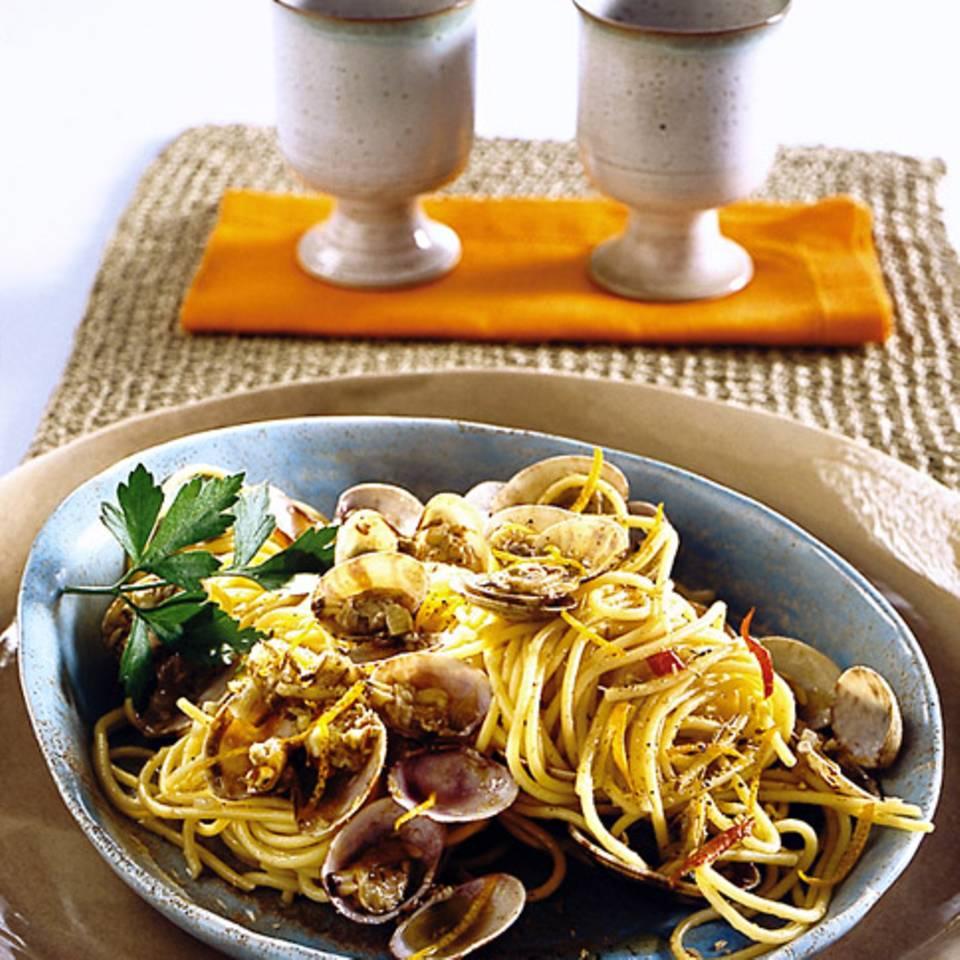 Spaghetti alle vongole Rezept