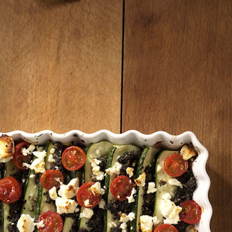 Feta-Zucchini