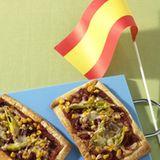 Spanische Pizza