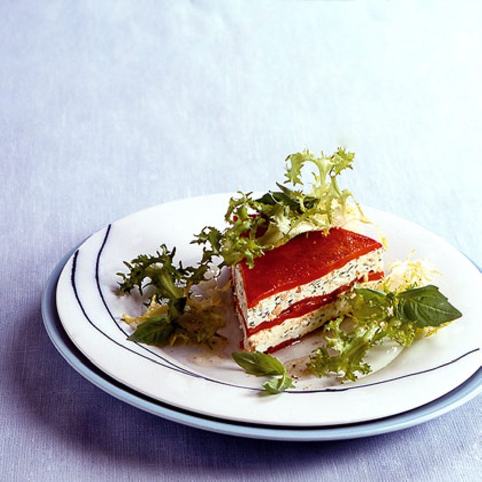 Paprika-Quark-Torte