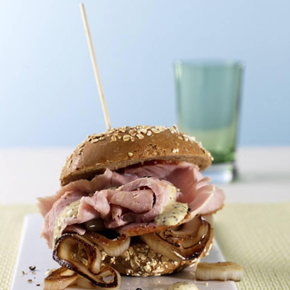 Kasseler-Burger Rezept