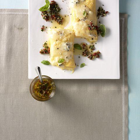 Vier-Käse-Omelett