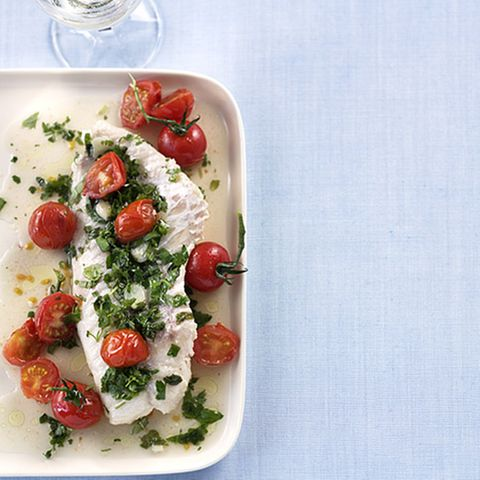 Tomaten-Rotbarsch