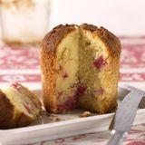 Vanille-Rhabarberkuchen im Glas