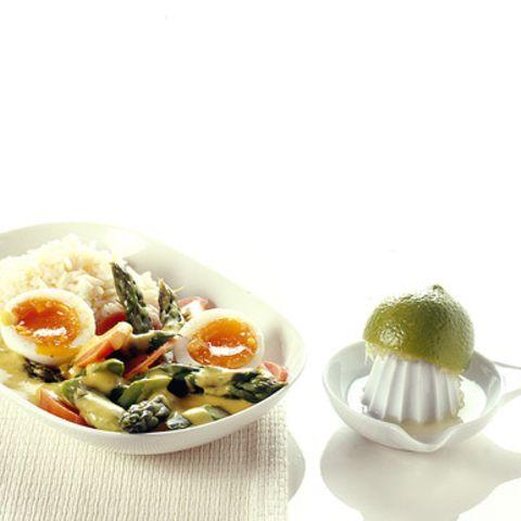Eier-Curry mit Gemüse