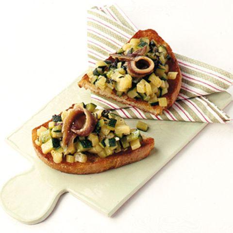Zucchini-Crostini