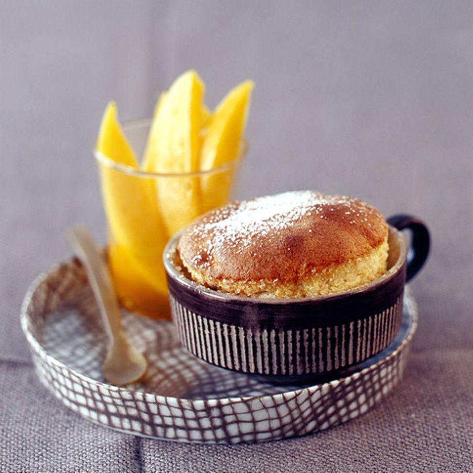 Schokoladen-Senf-Soufflé