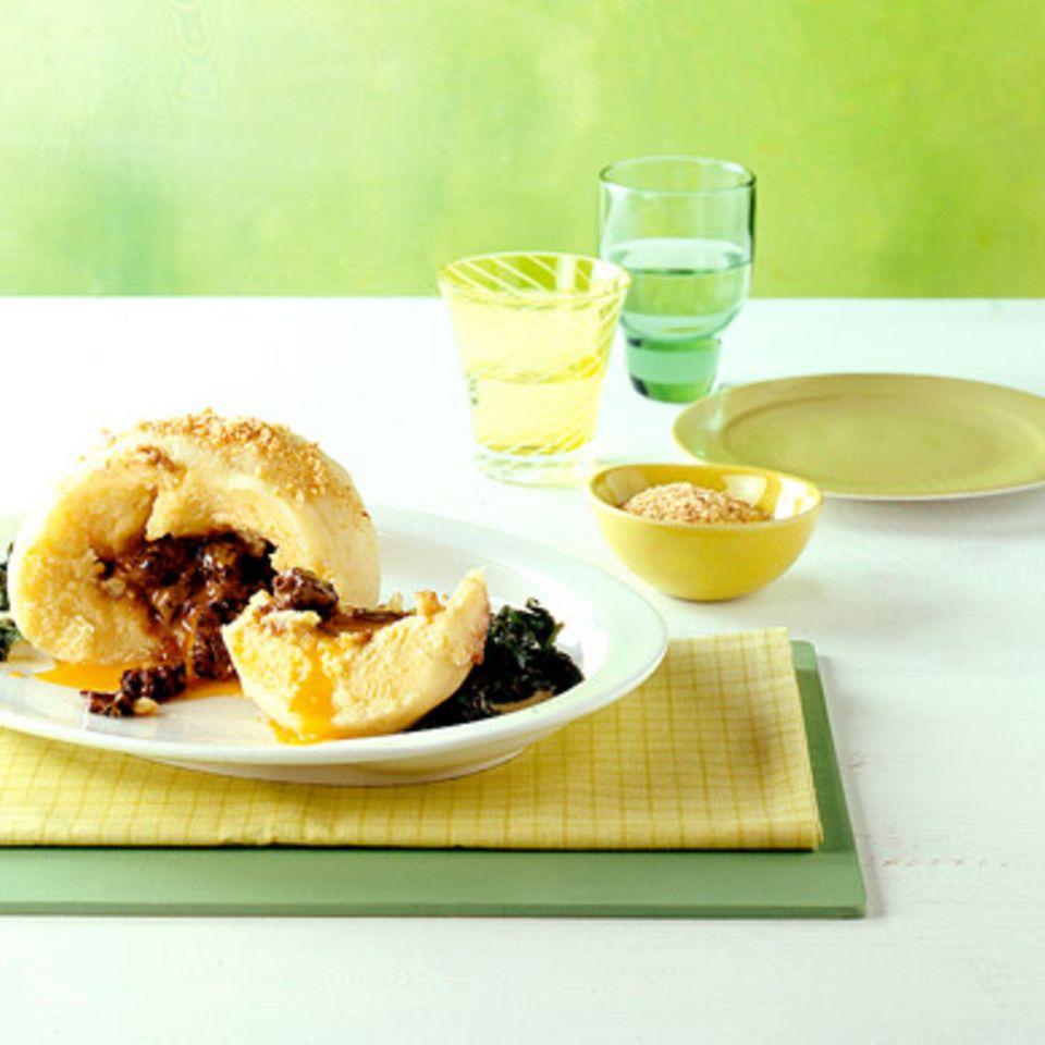 Kartoffel-Morchel-Knödel