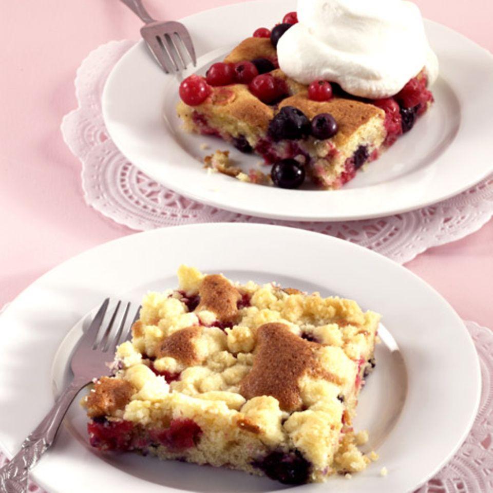 Beerenkuchen vom Blech