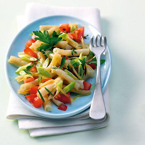 Wachsbohnensalat mit Tomate