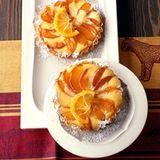 Aprikosentörtchen mit Zitronenguss