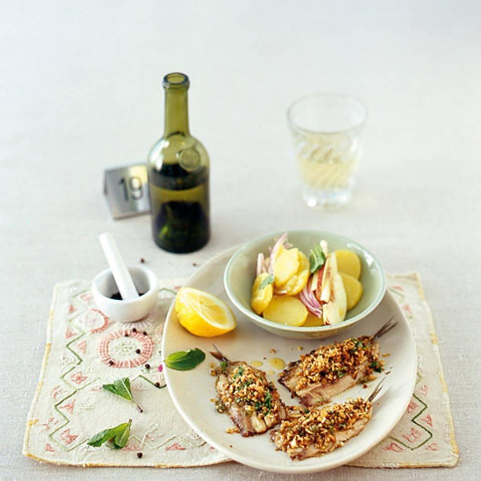 Kartoffelsalat mit Nektarinen Rezept