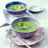 Kopfsalatsuppe mit Gremolata