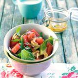 Spicy Wassermelonensalat