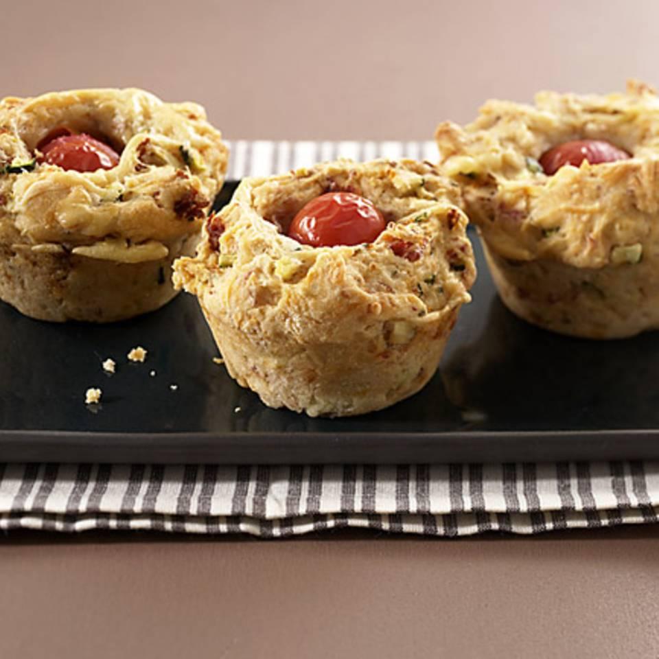 Pizza-Muffins Rezept