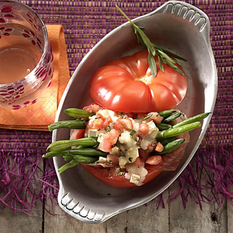 Bohnen-Tomaten Rezept